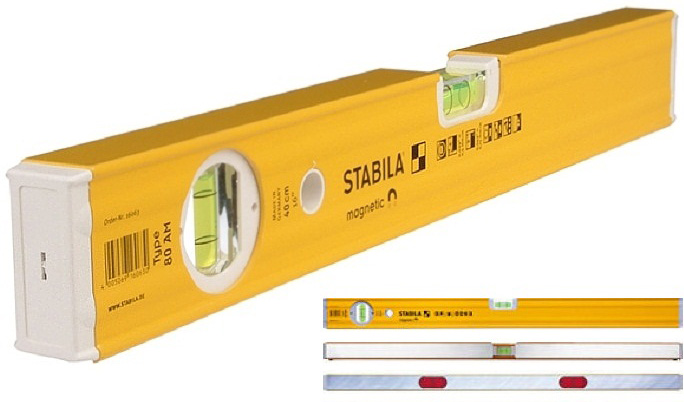 Уровень пузырьковый Stabila 16064 уровень stabila тип 80аm 60 см 16064