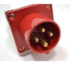 Вилка кабельная IEK 515 3P+PE+N