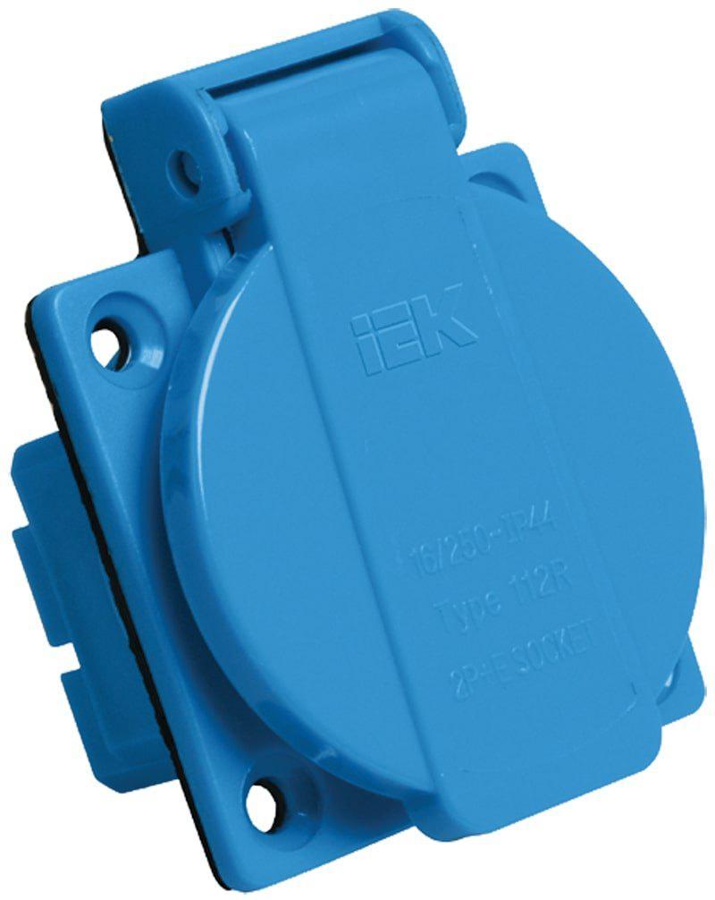 Розетка кабельная Iek РП10-3 2Р+РЕ лампа светодиодная iek 422025