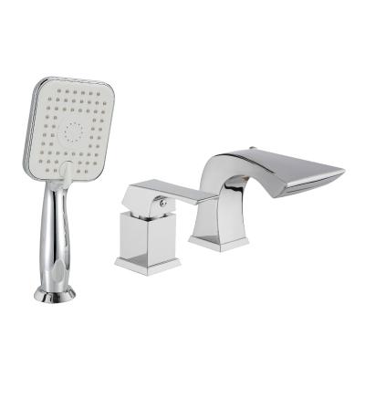 Смеситель для ванны Lemark Unit lm4545c смеситель для ванны коллекция basis lm3617c однорычажный хром lemark лемарк