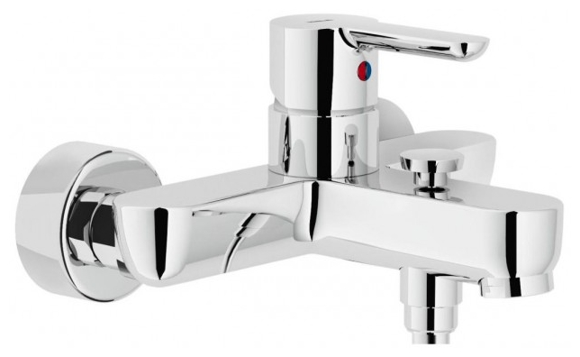 Смеситель для ванны Nobili Abc ab87110/1cr abc design 2 в1 turbo s4f