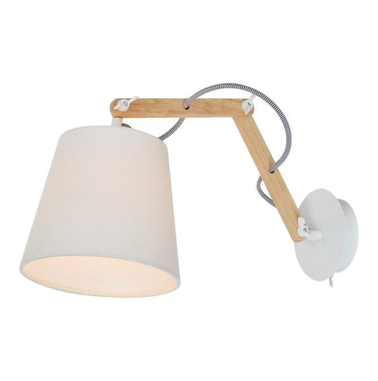 Бра Arte lamp A5700ap-1wh arte lamp бра pinoccio a5700ap 1wh