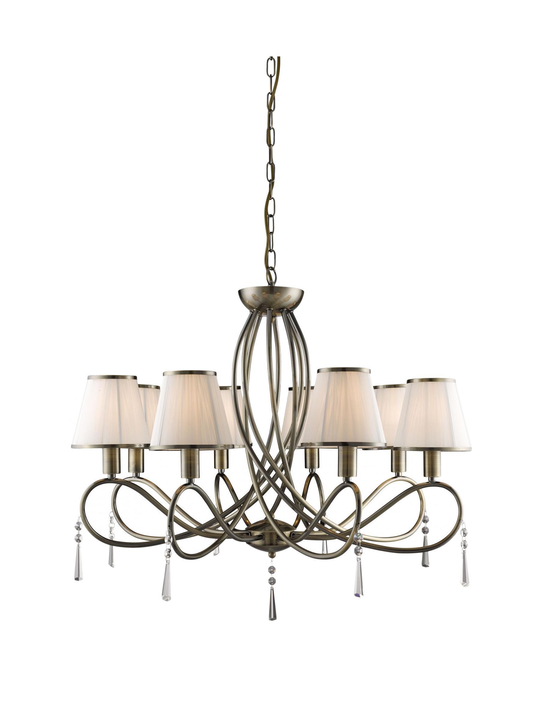Люстра Arte lamp A1035lm-8ab