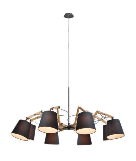 Люстра Arte lamp A5700lm-8bk arte lamp люстра arte lamp a6586lm 8bk