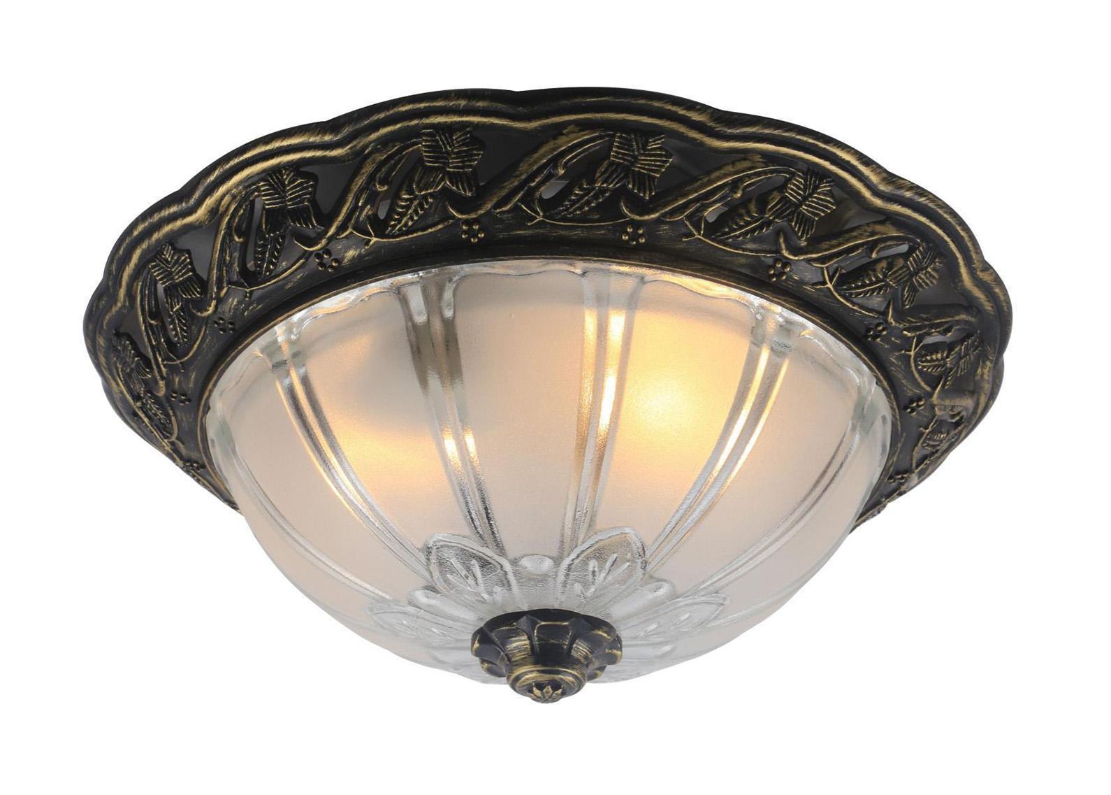 Светильник настенно-потолочный Arte lamp A8003pl-2ab arte lamp piatti a8003pl 2ab