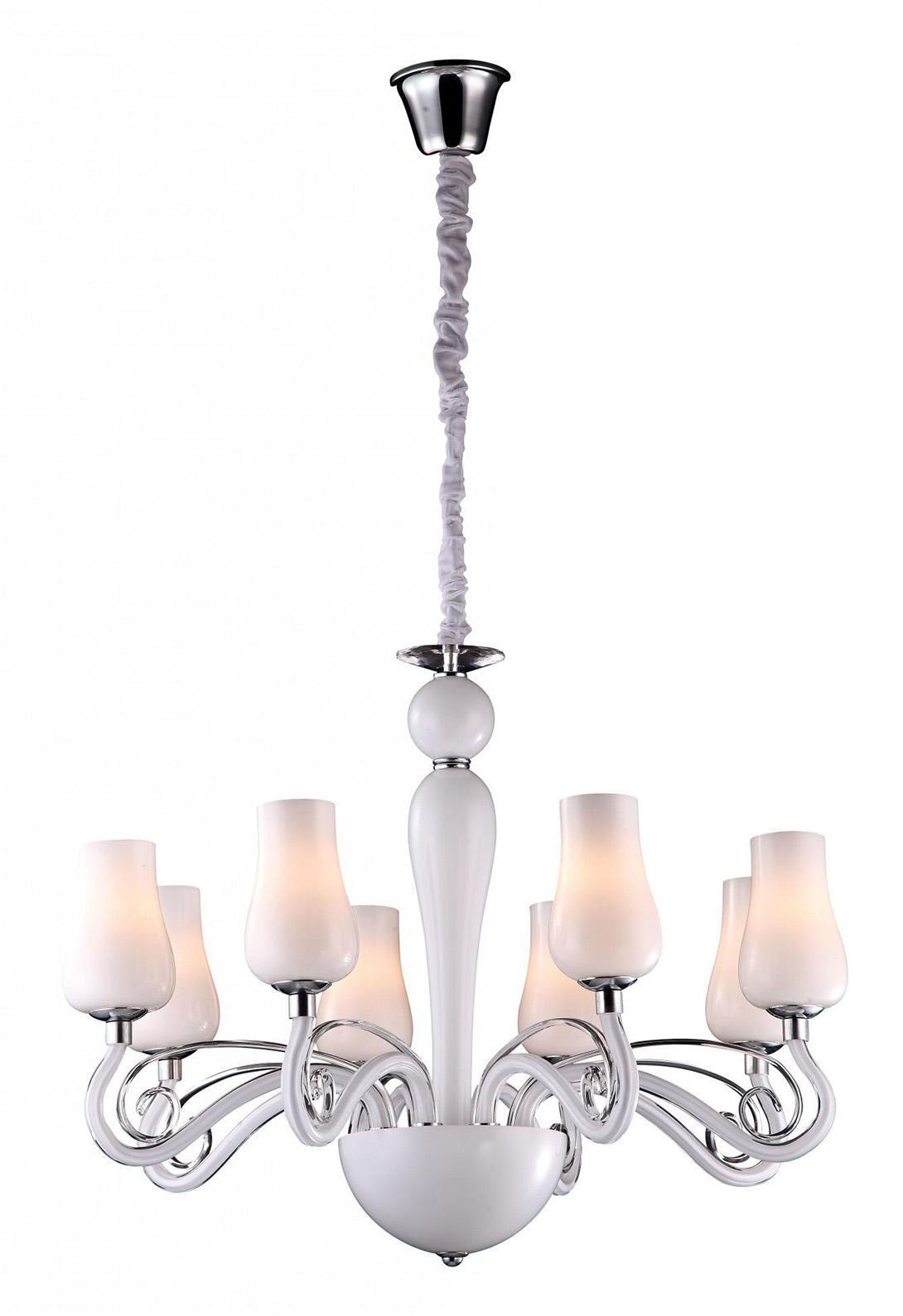 Люстра Arte lamp A8110lm-8wh подвесная люстра arte lamp biancaneve a8110lm 8wh