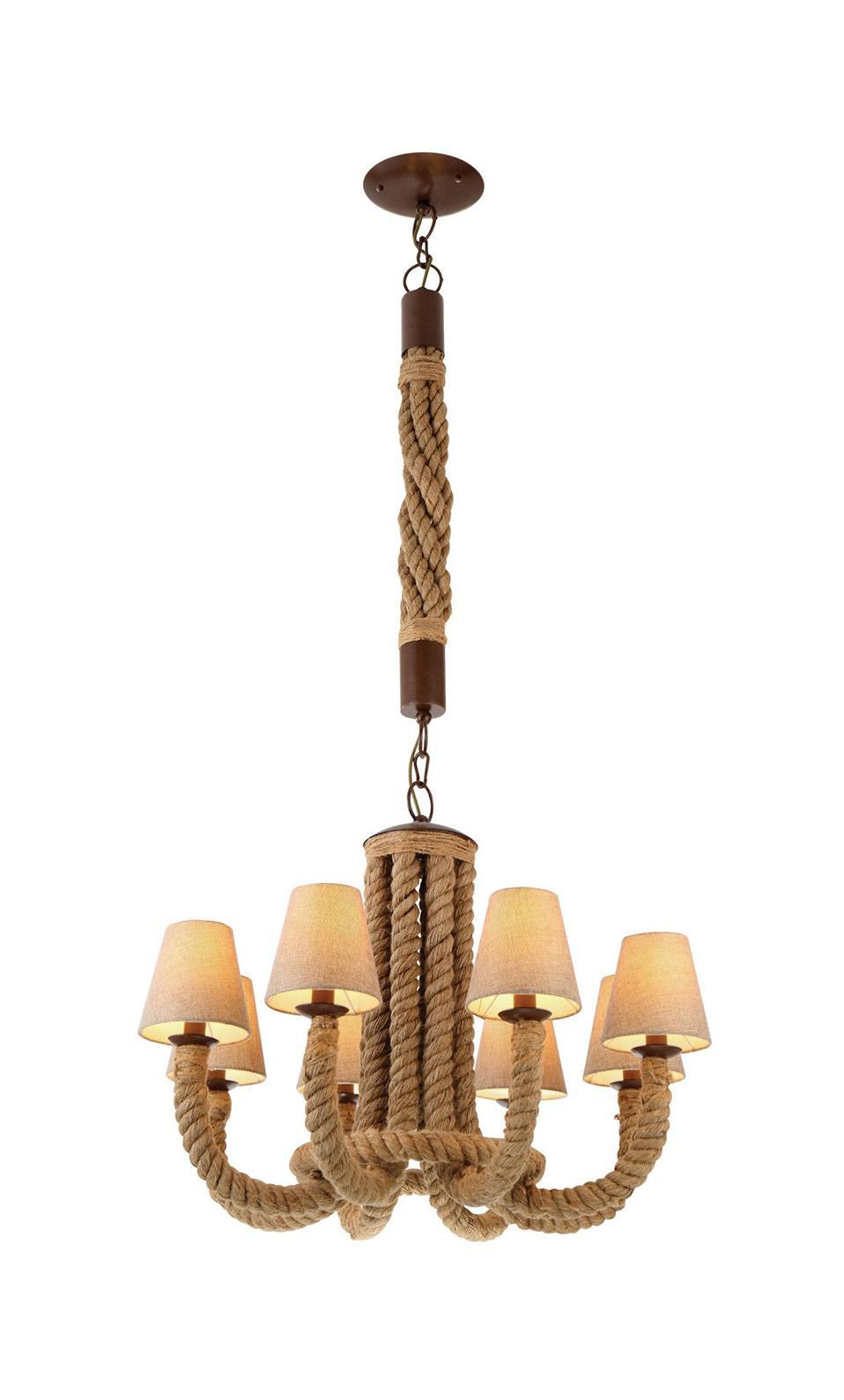 Люстра Arte lamp A8958lm-8br подвесная люстра arte lamp corda a8958lm 5br