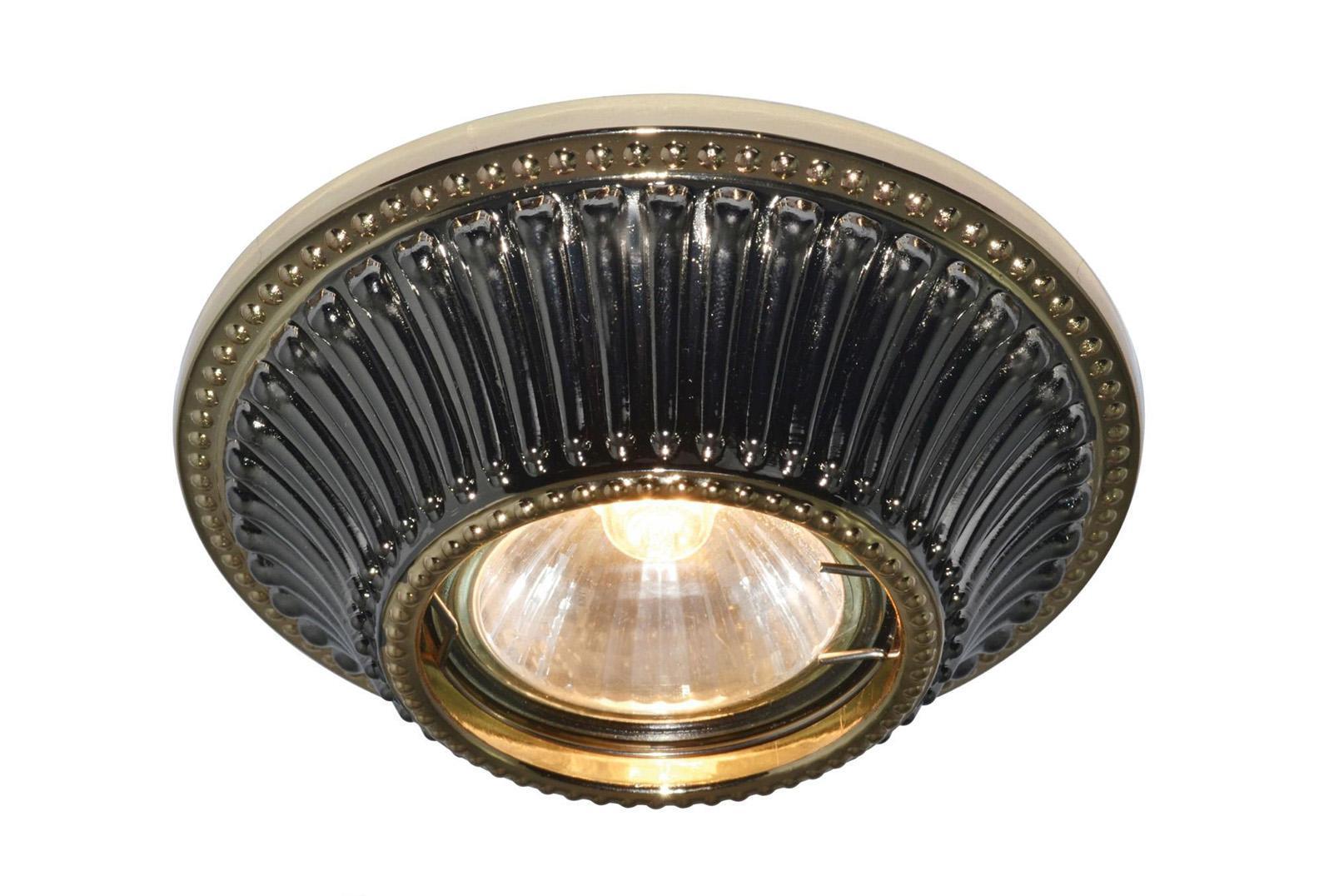 Светильник встраиваемый Arte lamp A5298pl-1ba бра arte lamp liverpool a3004ap 1ba