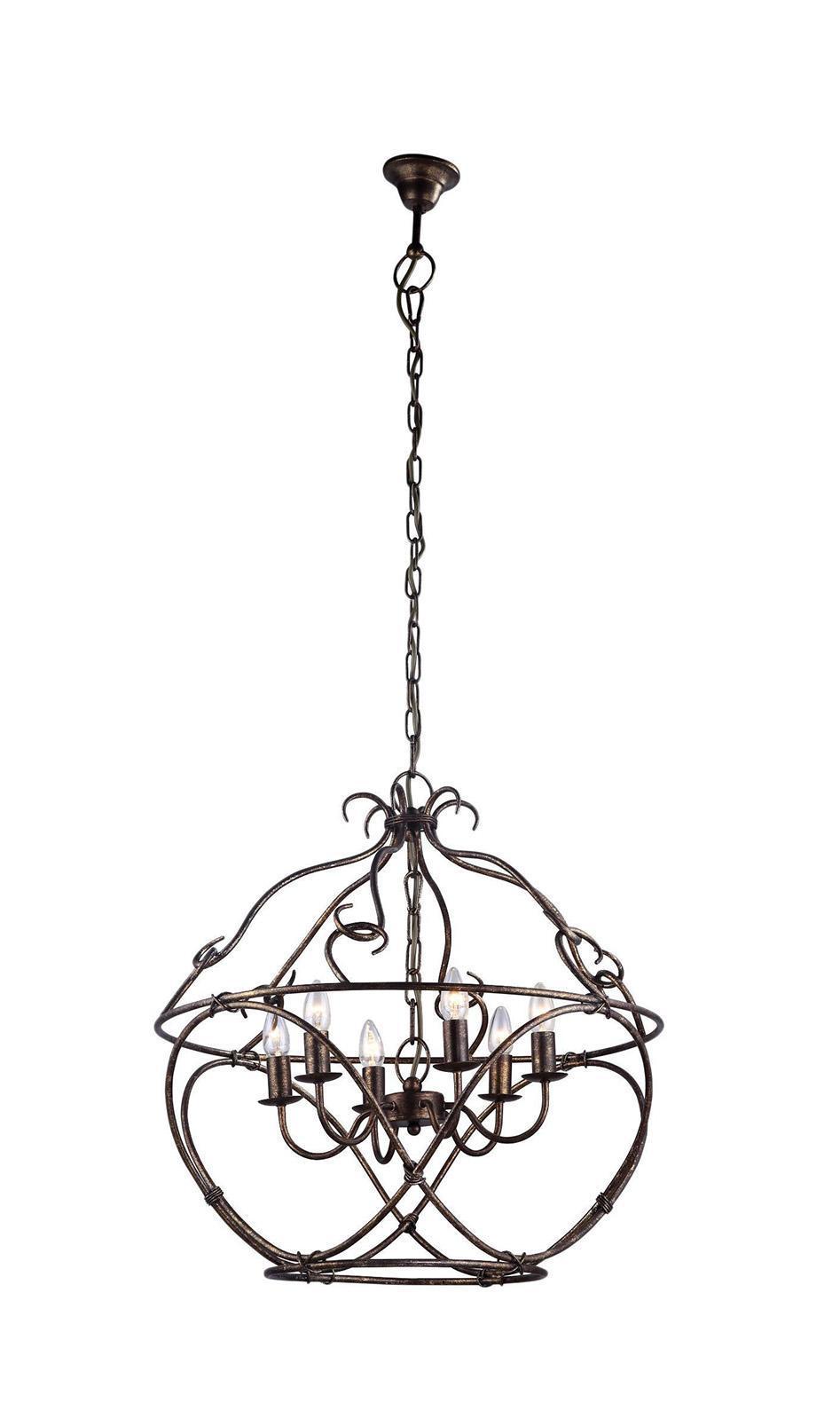 Светильник подвесной Arte lamp A8960sp-6ga arte lamp a8960sp 3ga