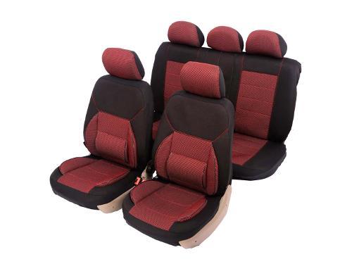Чехол на сиденье SENATOR Jacquard New Jersey Red