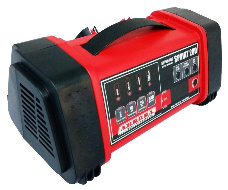 Устройство пуско-зарядное Aurora Sprint 20 automatic пуско зарядное устройство с компрессором каркам пзу 10
