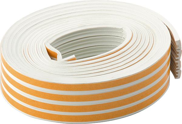 Уплотнитель СИБРТЕХ 93922  уплотнитель самоклеящийся ultima профиль e цвет белый 12 м