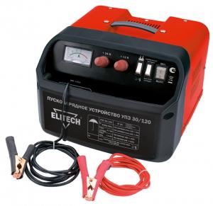 Устройство пуско-зарядное Elitech УПЗ 30/120 устройство зарядное трофи tr 120