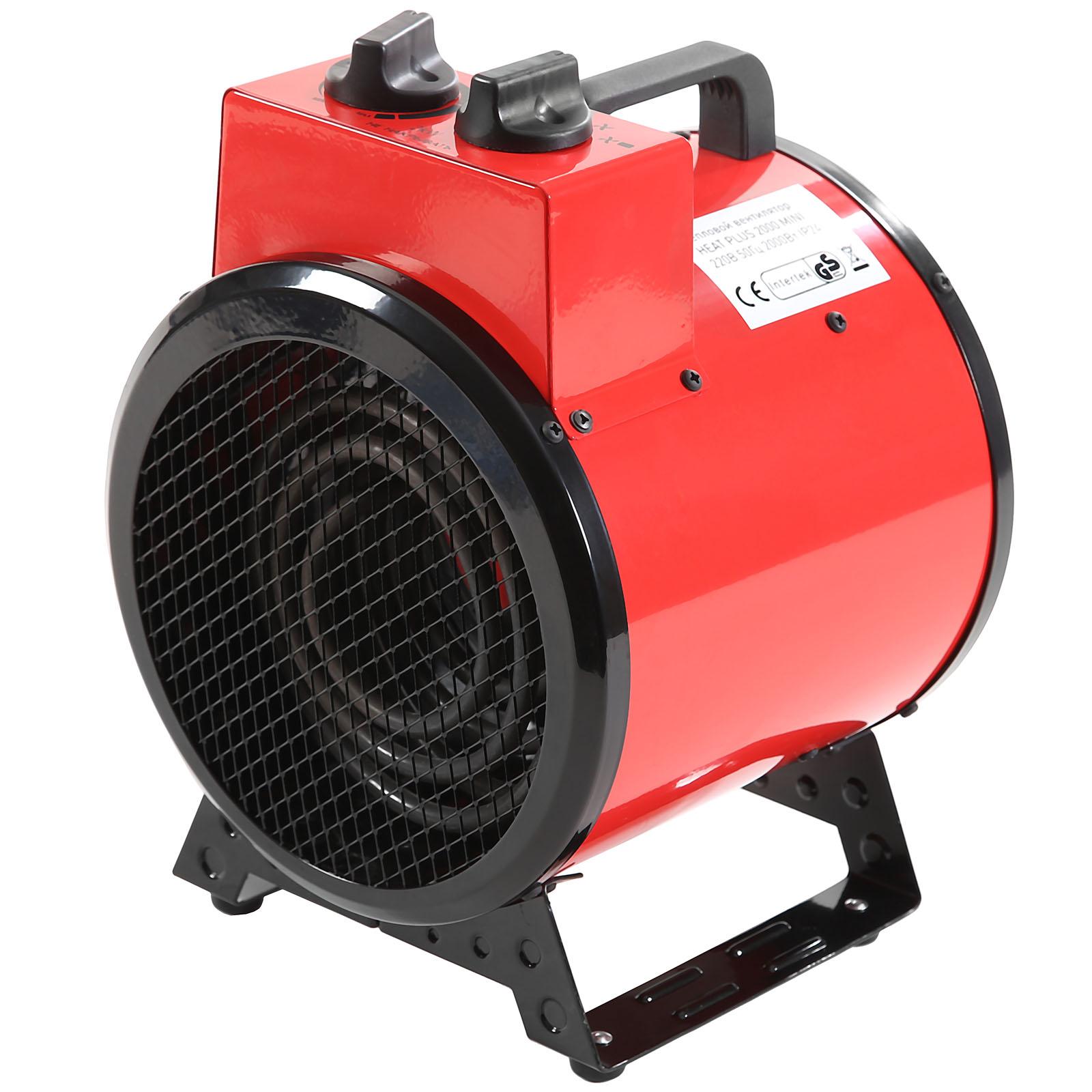 цены Электрическая тепловая пушка Aurora Heat plus 2000 mini