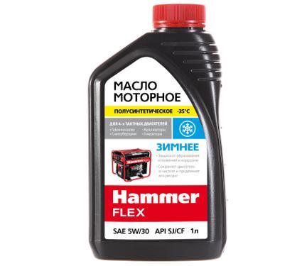 Масло моторное HAMMER 501-018 1 л, SAE-5W30