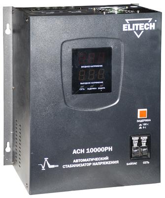 Стабилизатор напряжения Elitech АСН 10000РН стабилизатор напряжения elitech асн 3000е