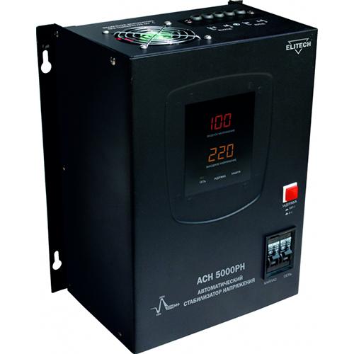 Стабилизатор напряжения Elitech АСН 5000РН стабилизатор напряжения elitech асн 3000е