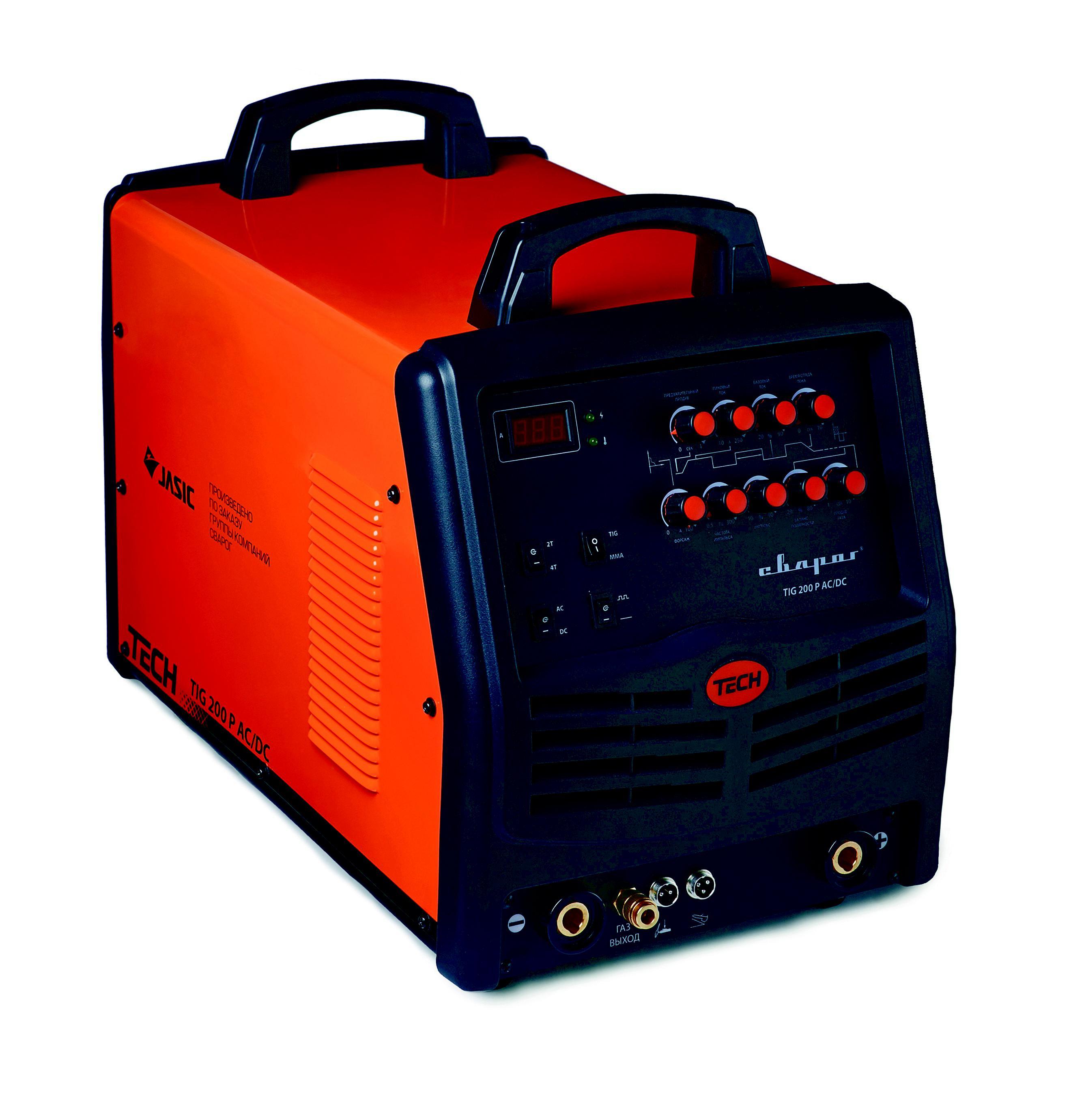 Сварочный аппарат СВАРОГ Tech tig 200 p ac/dc (e101) сварочный аппарат сварог pro tig 200 p dsp w212