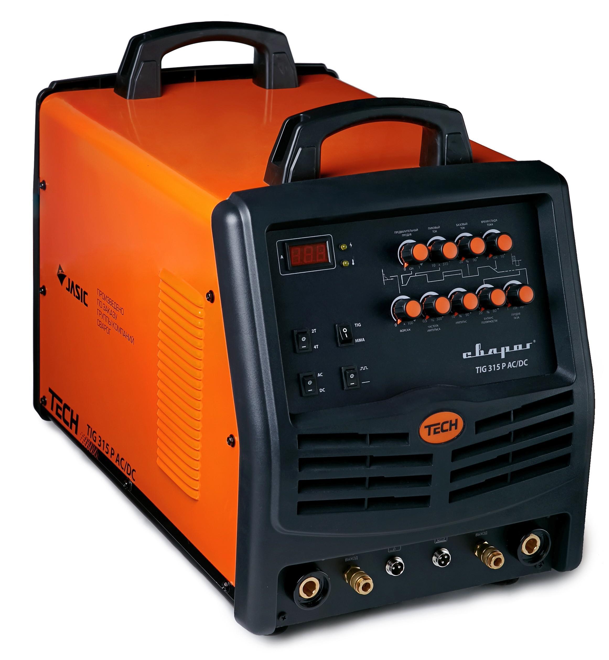 Сварочный аппарат СВАРОГ Tech tig 315 p ac/dc (e103) сварочный аппарат сварог pro tig 200 p dsp w212