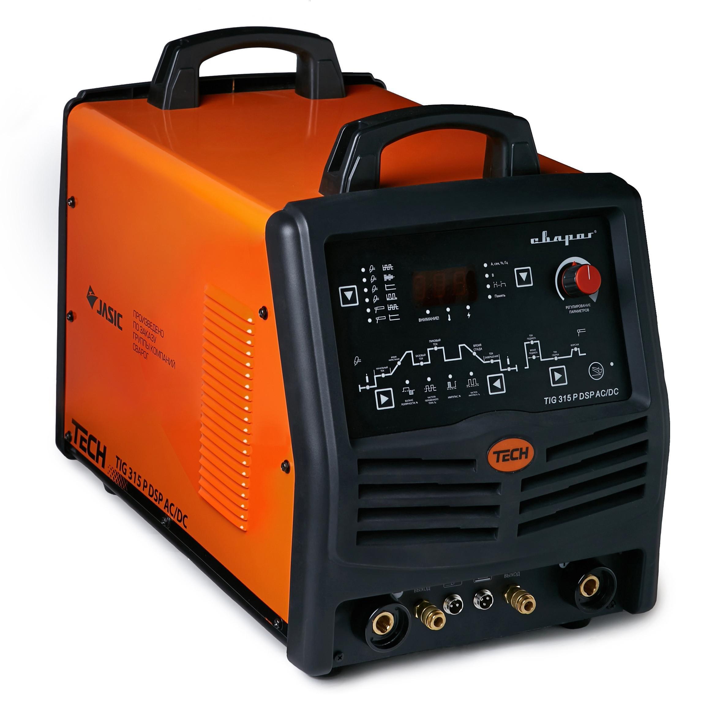 Сварочный аппарат СВАРОГ Tech tig 315 p ac/dc dsp (e106) сварочный аппарат сварог pro tig 200 p dsp w212