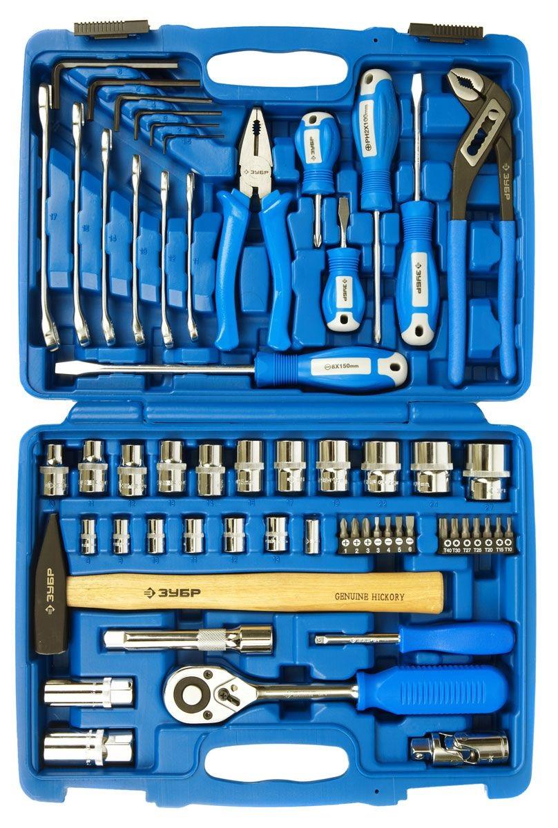 Набор инструментов ЗУБР 27670-h58