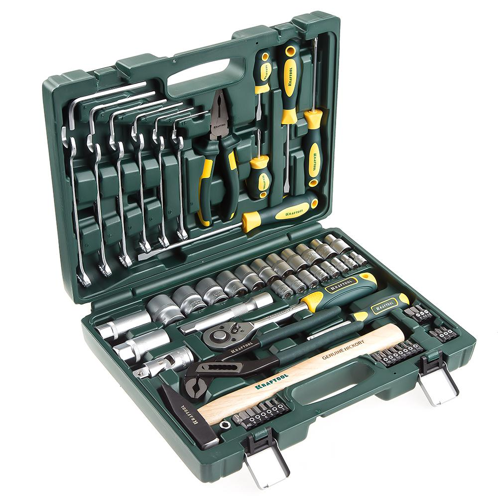 Набор инструментов Kraftool 27976-h66 набор инструментов kraftool 66 предметов expert 27976 h66