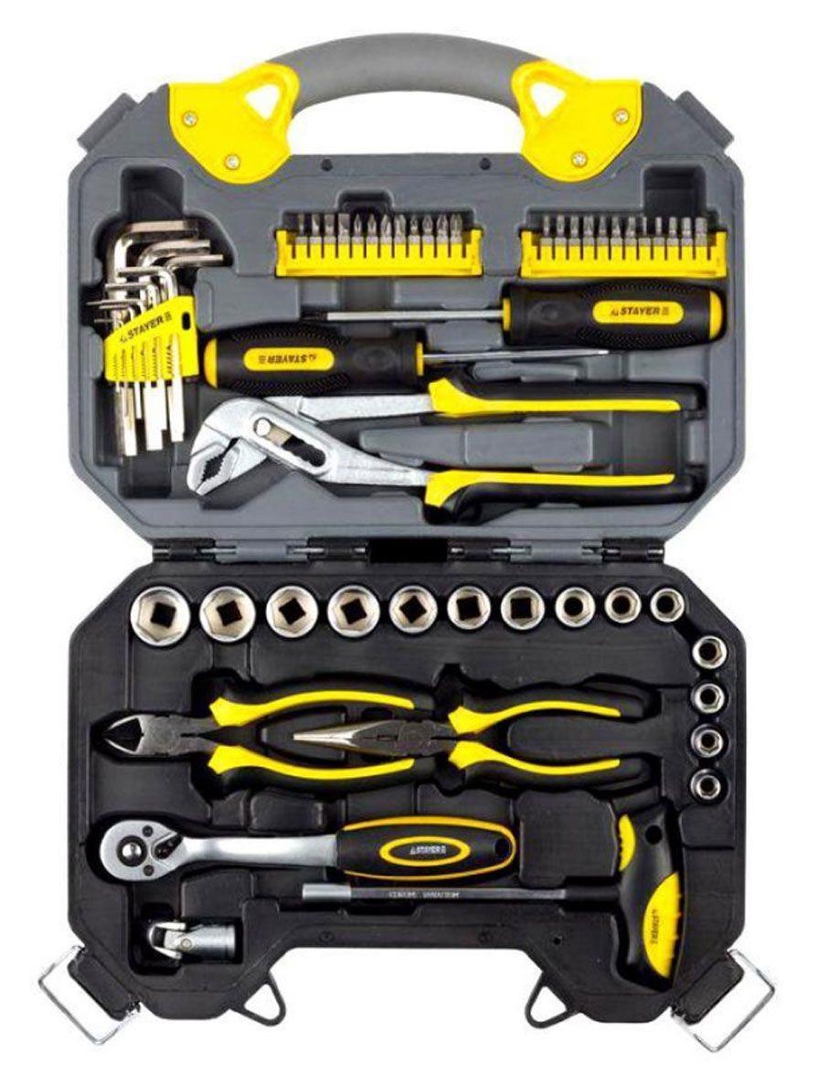 Фото - Набор инструментов Stayer 27710-h56 набор инструментов stinger 19 инструментов в кейсе