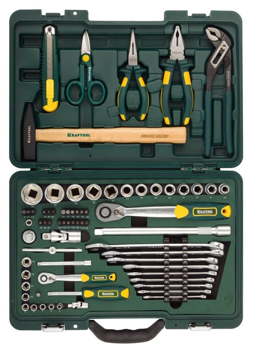Набор инструментов Kraftool 27977-h70 set of hand tools kraftool 27977 h84