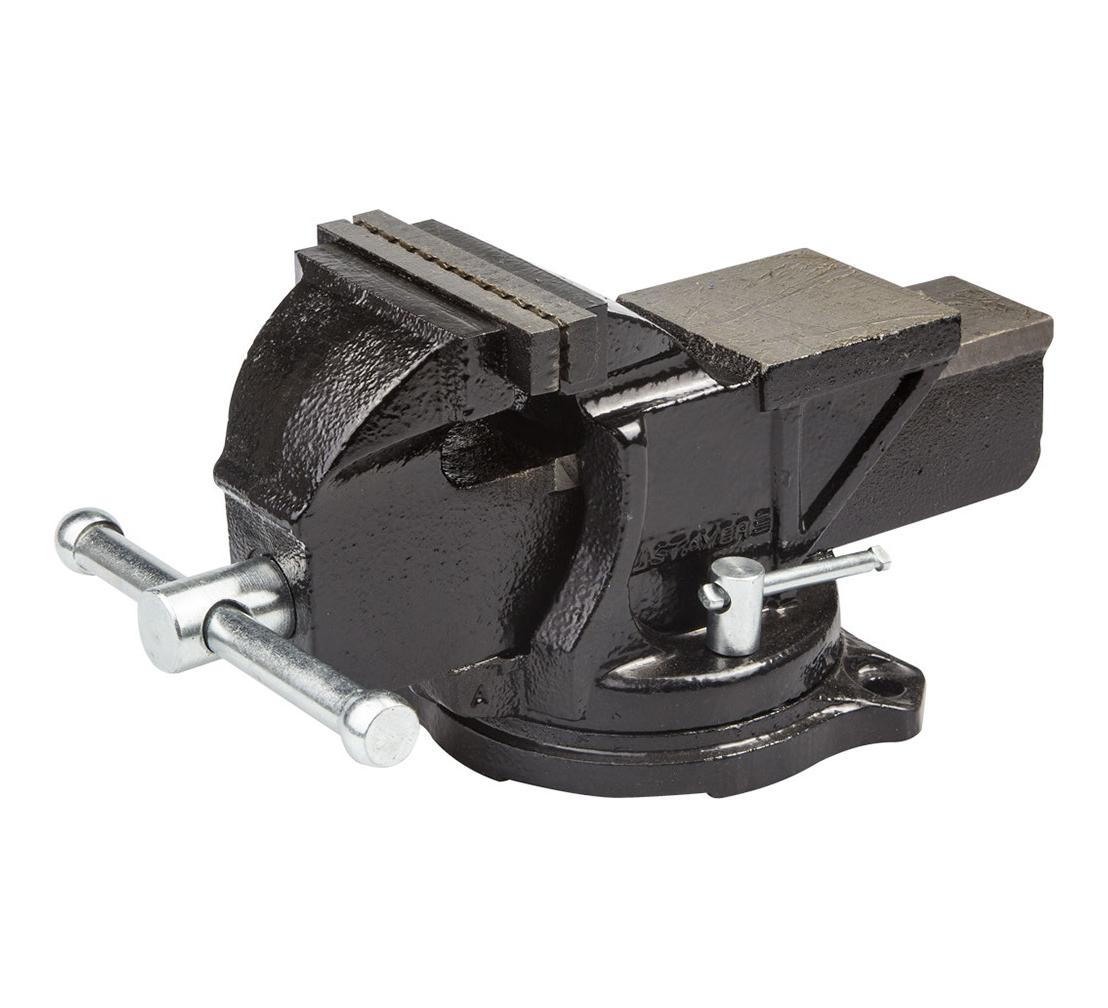 Тиски слесарные STAYER 3256-100, 100мм поворотные