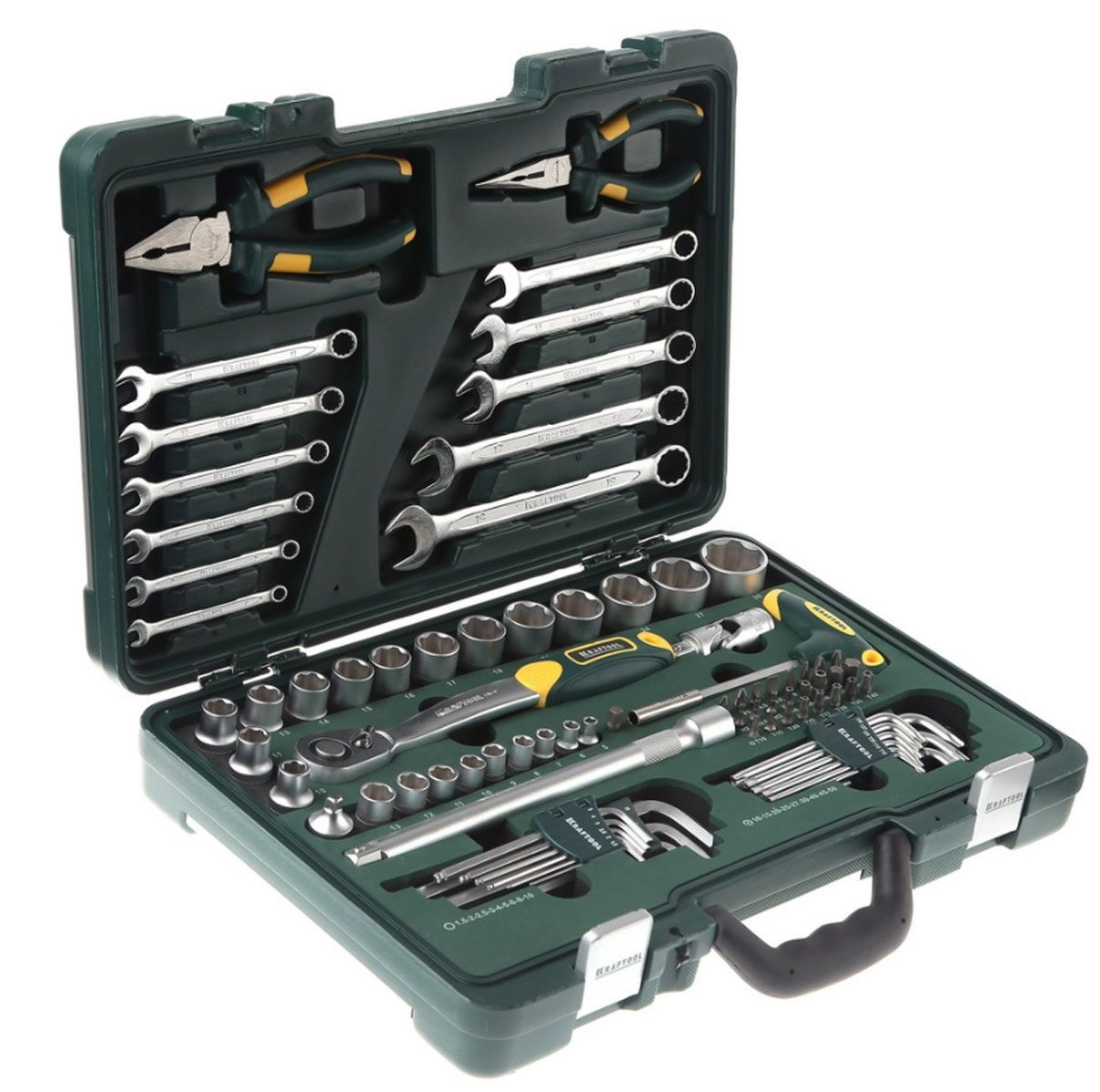 Набор инструментов Kraftool 27977-h84 set of hand tools kraftool 27977 h84