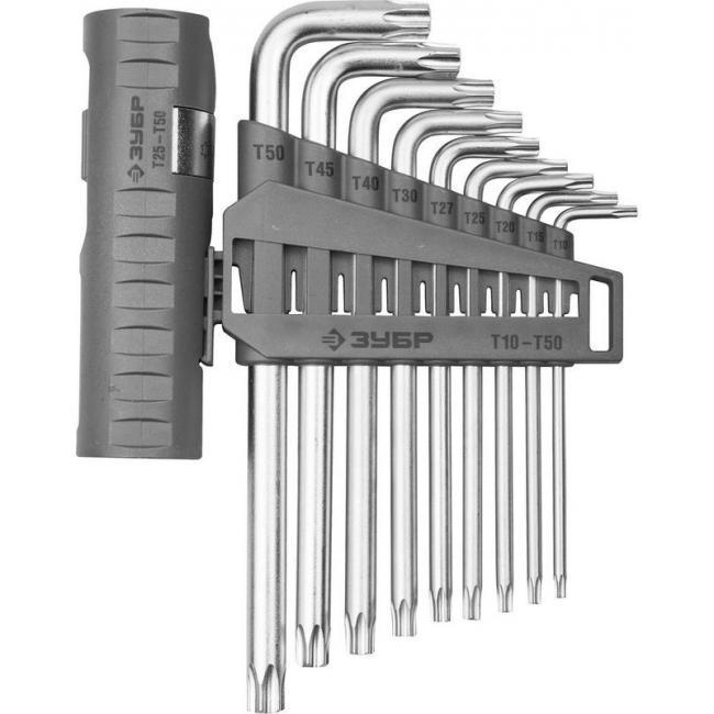 цены Набор ключей torx ЗУБР 2745-4-1_z01