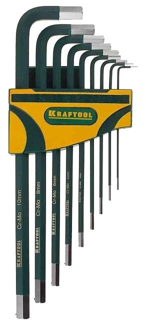 Набор шестигранных ключей Kraftool 27443-h9 от 220 Вольт