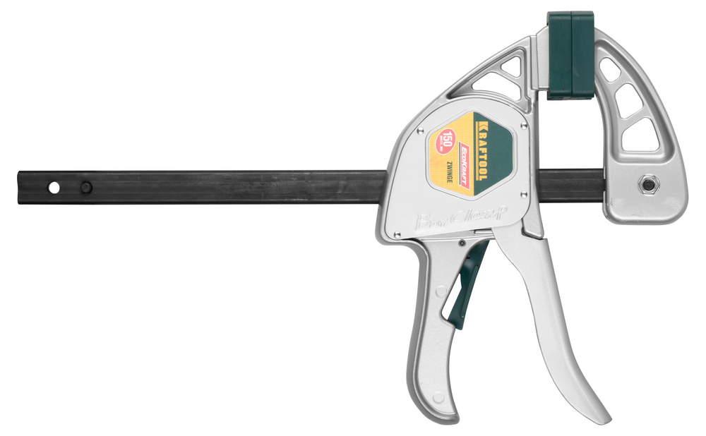 Струбцина Kraftool 32228-15 ручная пистолетная струбцина kraftool ecokraft 32228 45