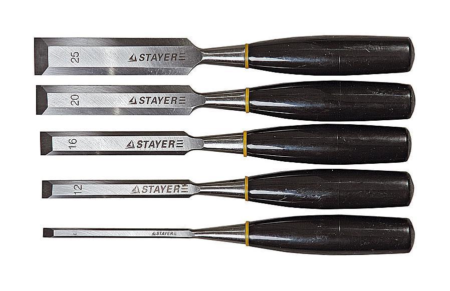 Набор стамесок Stayer 1820-h5 набор stayer master 2988 h5