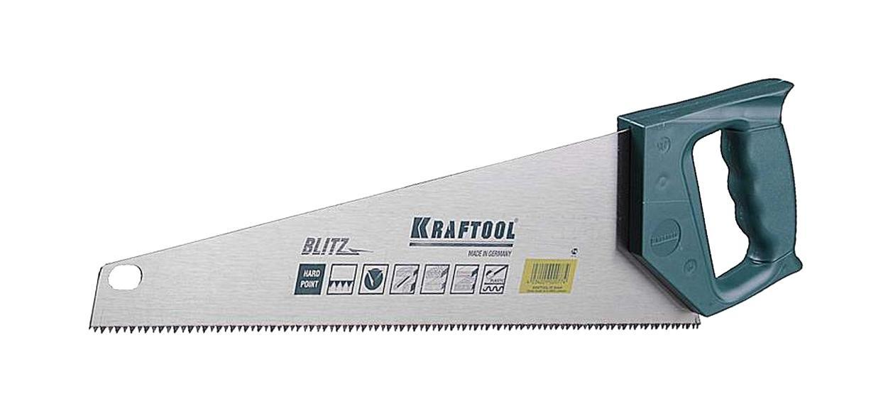 Ножовка Kraftool 15005-50 ножовка kraftool blitz 15005 45