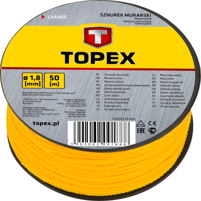 Шнур Topex 13a905
