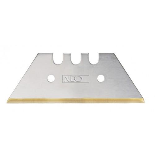 Нож строительный Neo 64-420 tytan нож строительный armero 25мм стальной 5 лезвий tytan