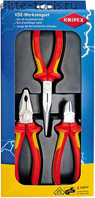 Клещи Knipex Kn-002012 клещи knipex kn 8701400 кобра