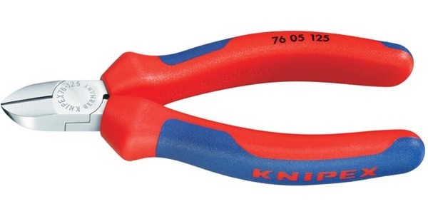 Бокорезы Knipex Kn-7605125 бокорезы knipex kn 7006160