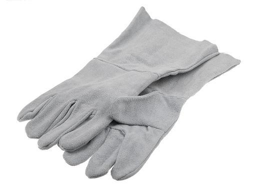 Спилковые перчатки сварщика NO NAME per27