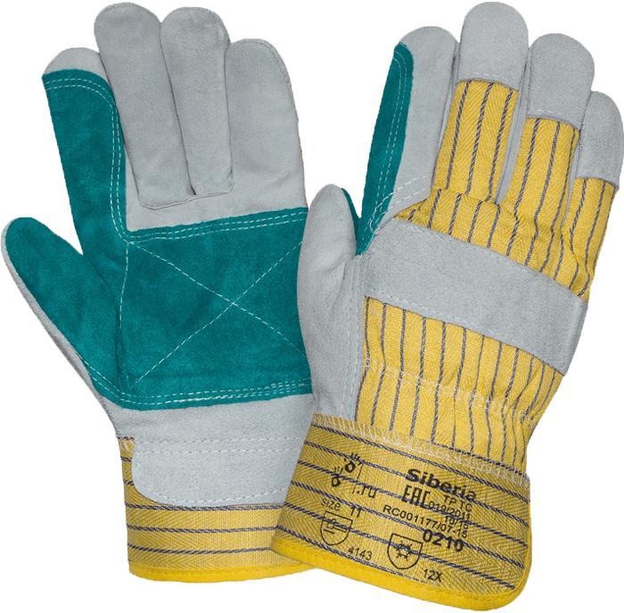 Перчатки спилковые Newton Per19 Докер