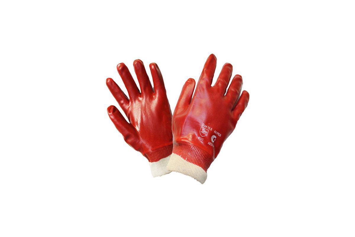 Перчатки ПВХ Newton Per45 Гранат б у станки делать х б перчатки