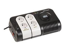 Стабилизатор напряжения Iek Simple 0.75кВА стабилизатор напряжения iek boiler 0 5ква