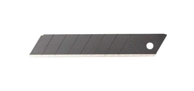 Лезвие для ножа Olfa Ol-lbb-10b лезвие сегментированное olfa 18х100х0 5мм 8 сегментов 50шт black max ol lbb 50b