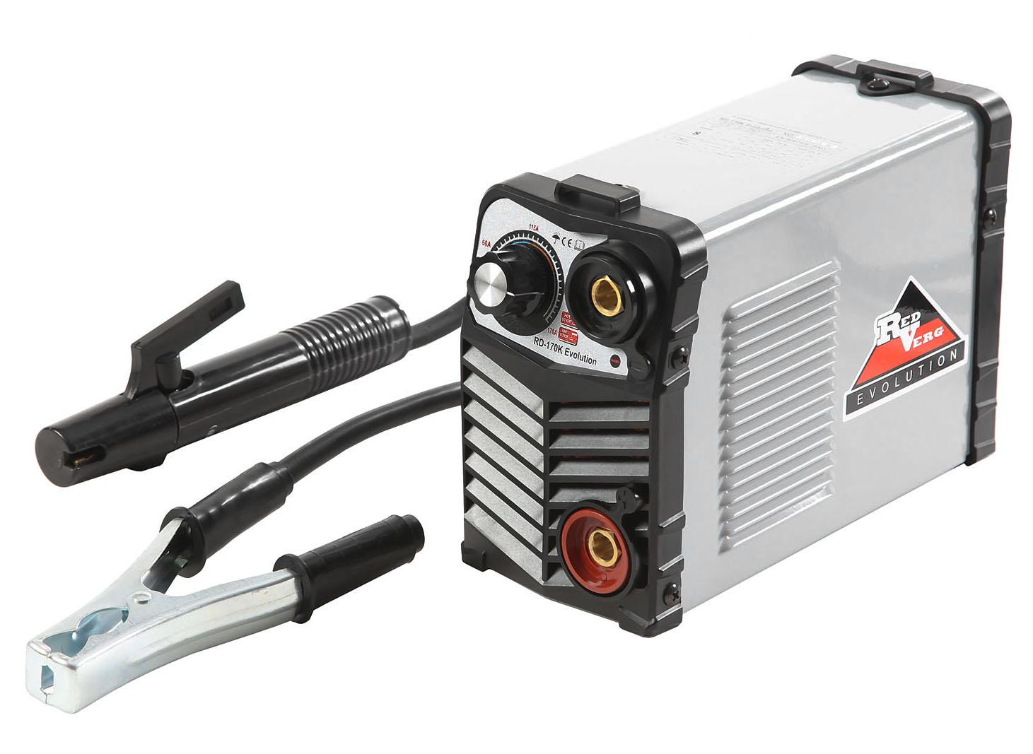 Сварочный аппарат Redverg Rd-170k evolution генератор бензиновый инверторный redverg rd ig2000
