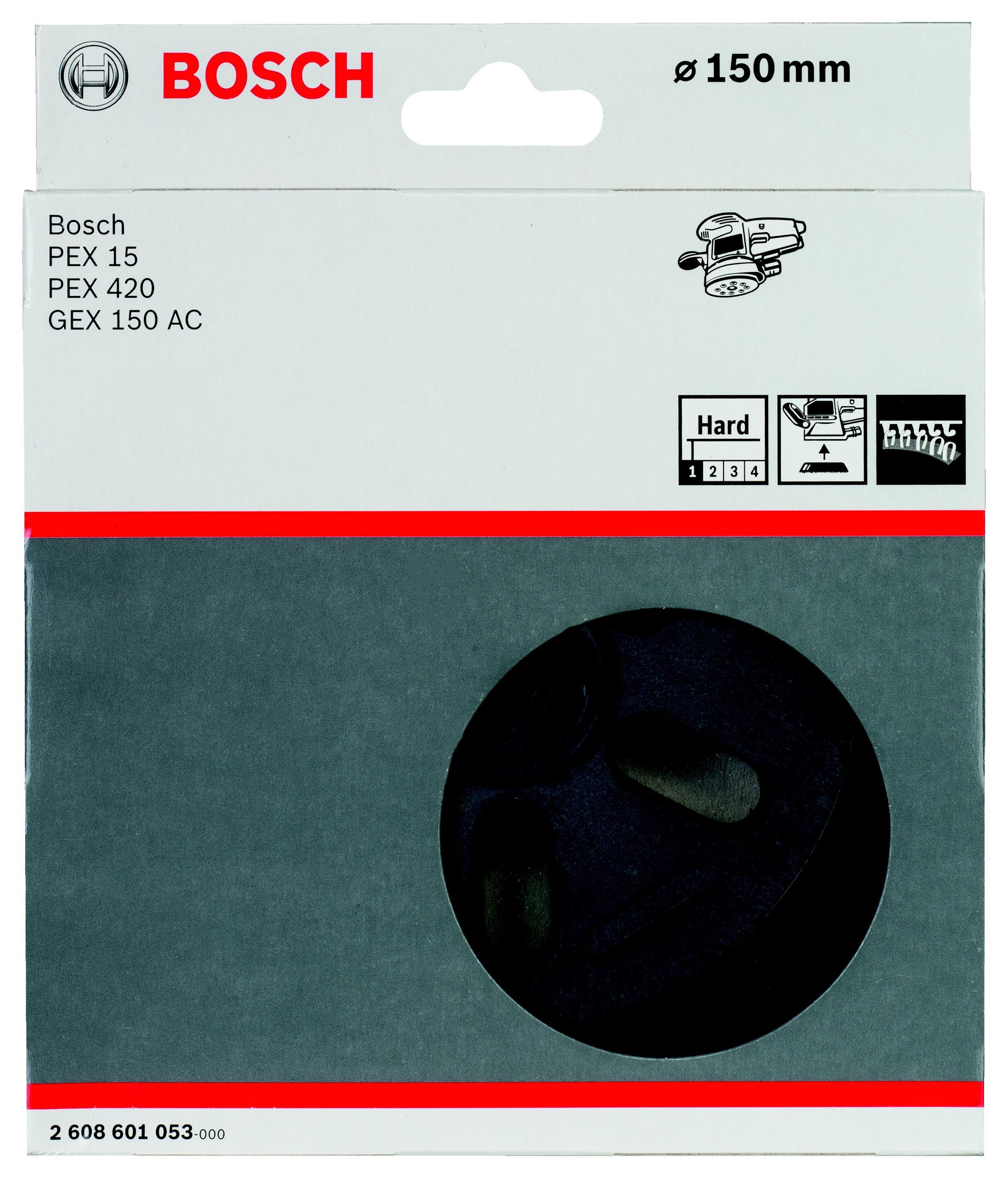 Тарелка опорная Bosch 2 608 601 053 тарелка опорная bosch 125мм на липучке 2 608 601 077