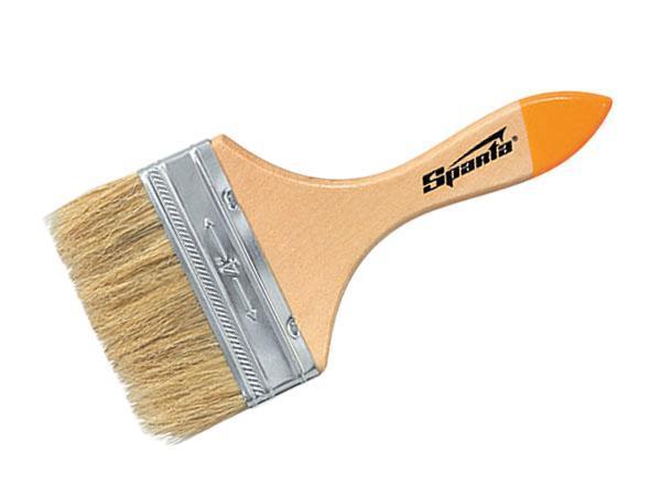 Кисть флейцевая Sparta 824455 кисть макловица 30х70 мм натуральная щетина пластмассовый корпус пластмассовая ручка sparta