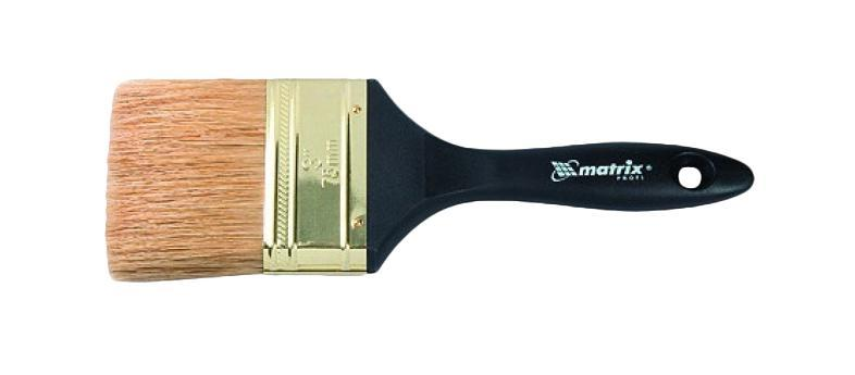 Кисть флейцевая Matrix 83066 степлер matrix 40907 мебельный пластиковый скобы тип 53 68мм