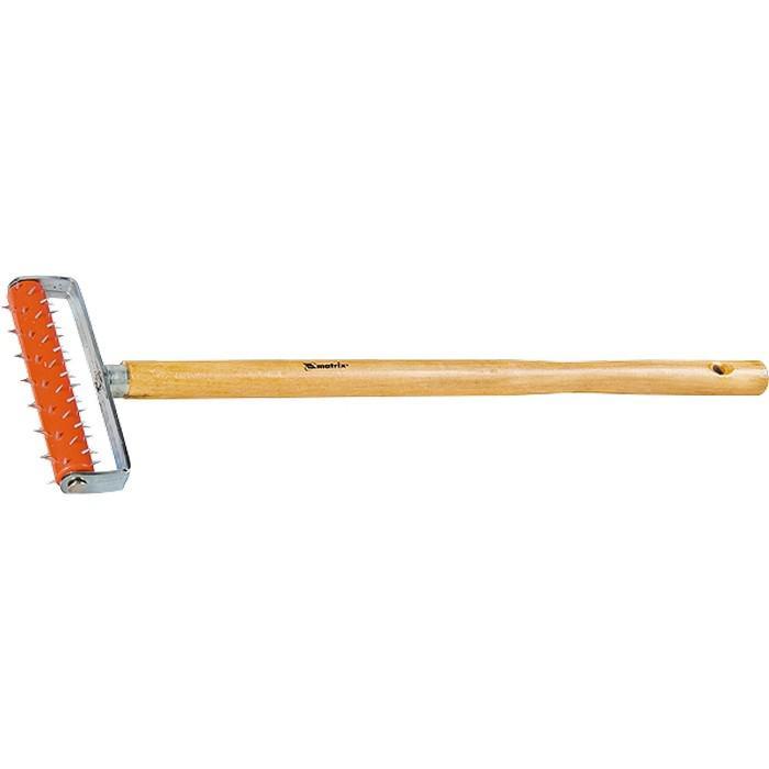 Валик игольчатый Matrix 87901 игольчатый валик для гипсокартона деревянная ручка matrix master 87901 150 мм