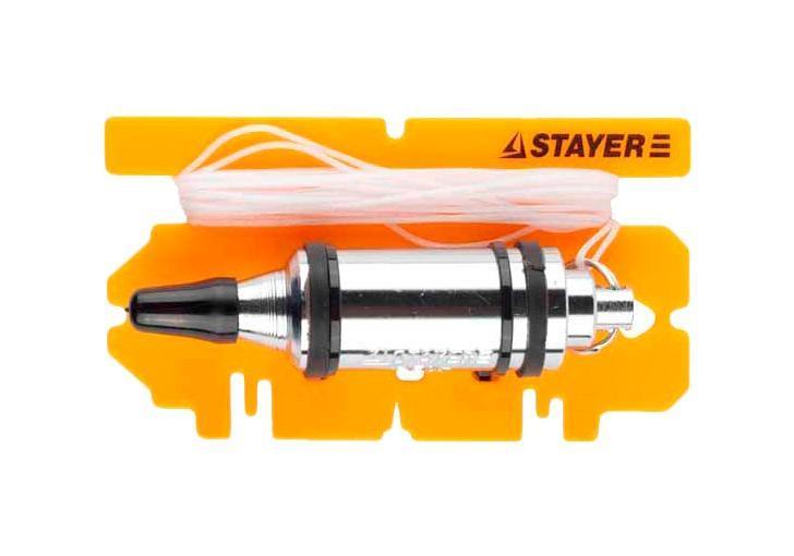 Отвес строительный Stayer 06352-50 отвес строительный topex 30c643